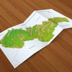 Turistická mapa MP studio